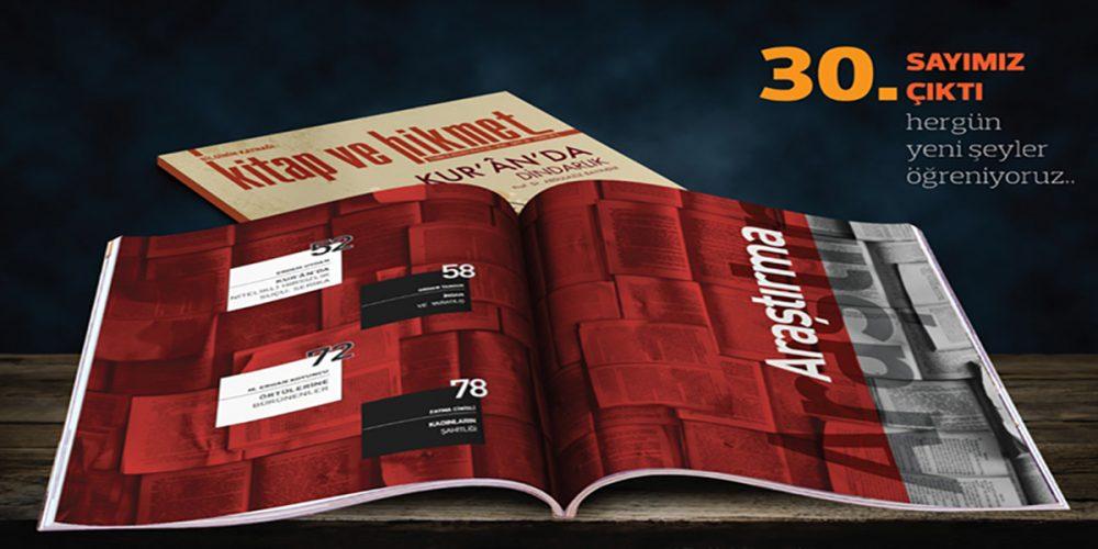 KİTAP VE HİKMET DERGİSİ 30. SAYI